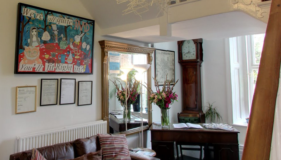 See inside Chandos House